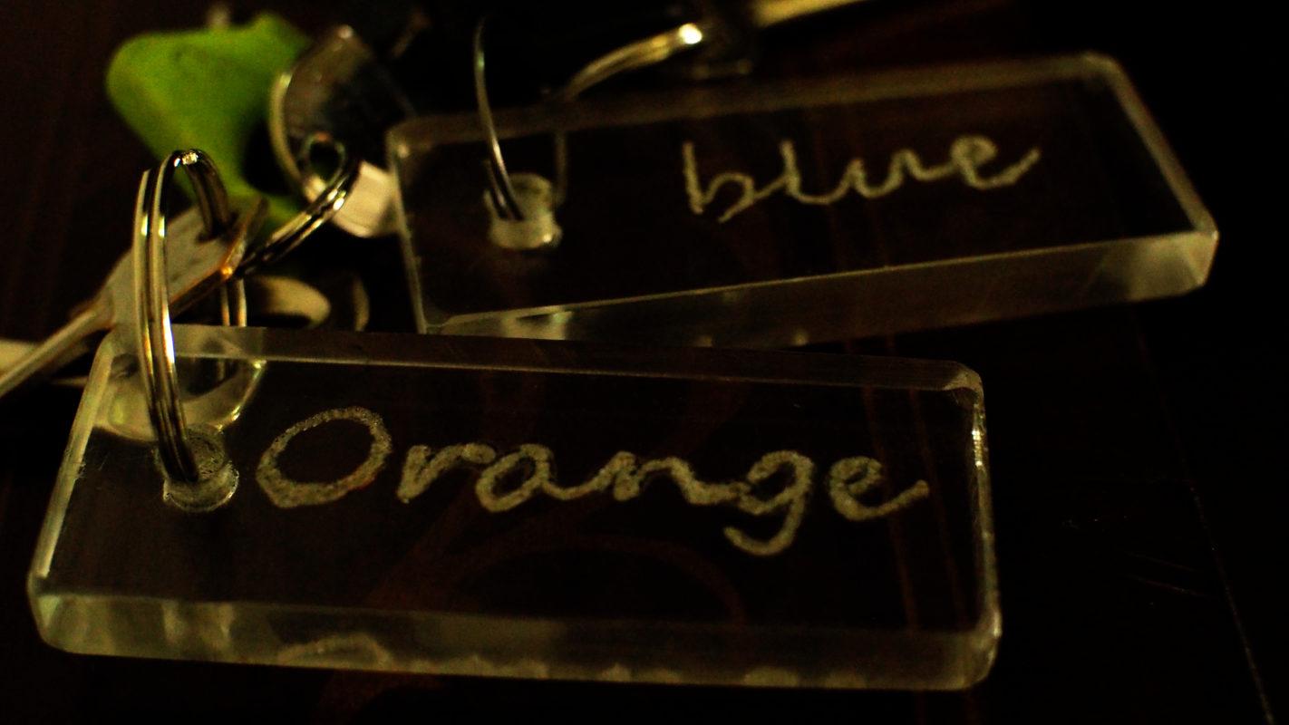 chiavi delle camere B&B Regina Pacis Rieti